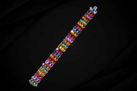 colored-gemstone-bracelet