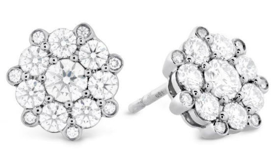 Beloved Cluster Diamond Studs