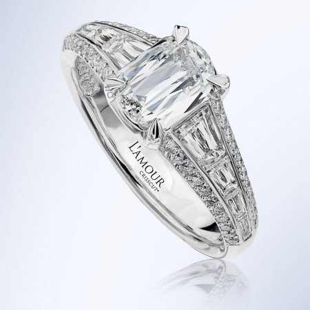 L'Amour Diamond Engagement Ring from the Renee Collection