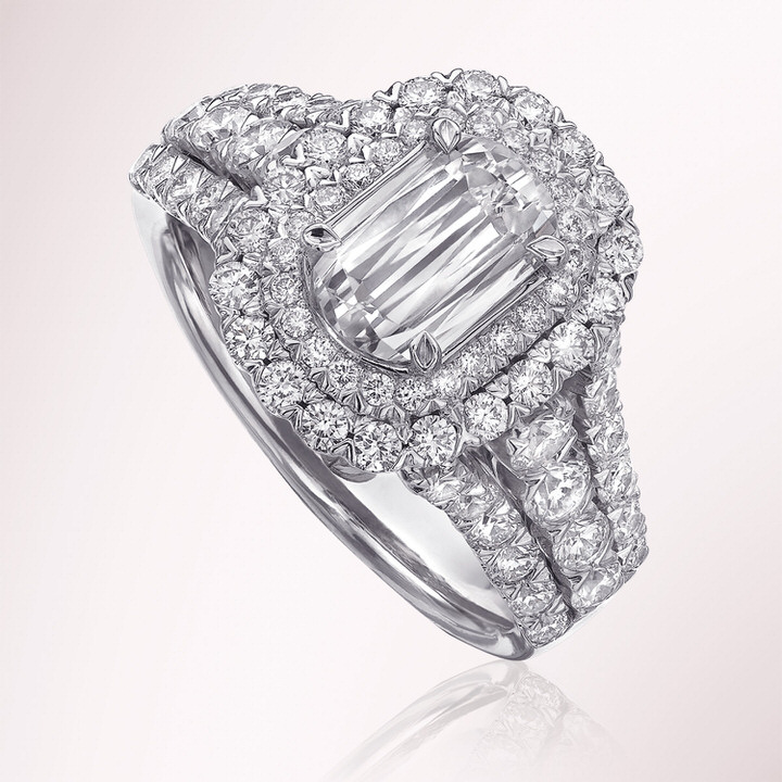 L'Amour Diamond Engagement Ring from the Annabella Collection