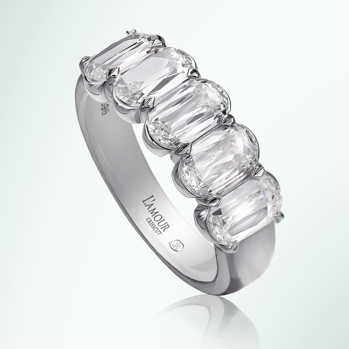 L'Amour Diamond Band from the Uma Collection