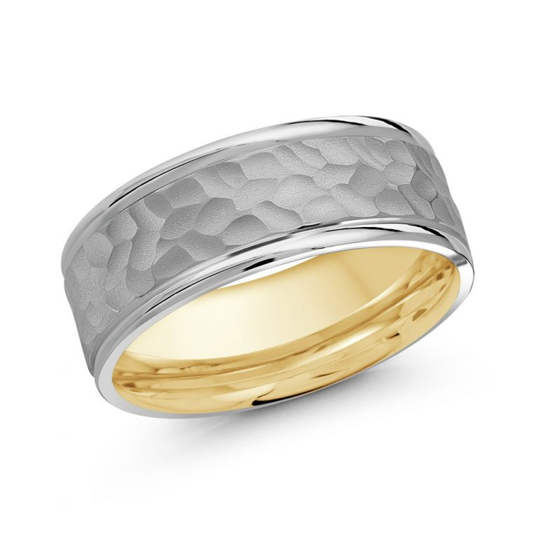 Mens Two Tone Band